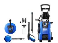 Nilfisk E 145 bar Pressure Washer with Patio Cleaning Kit (2100w Induction Motor)