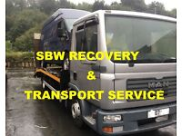 CAR / VAN TRACTOR, FORKLIFT RECOVERY TRANSPORT COLLECTION/DELIVERY SERVICE