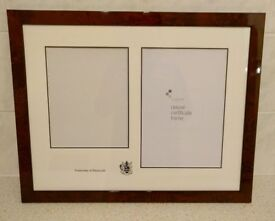 University of Plymouth Degree and Graduation Picture Frame