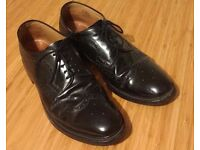 Shoes Black Leather Brogues Size 13 Charles Tyrwhitt