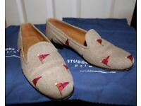 Stubbs and Wootton Loafers