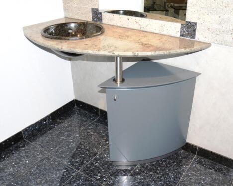 Granitwaschtisch Unterschrank Waschtisch Granit Waschbecken Bad In