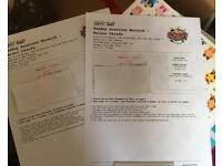Two Kaiser Chiefs tickets