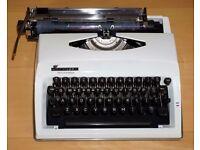 Contessa deluxe portable typewriter
