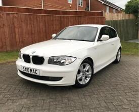 BMW 1 Series 116d 3 Door Hatchback White