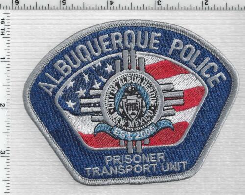 Albuquerque Police (New Mexico) 1st Issue Prisoner Transport Unit Shoulder Patch