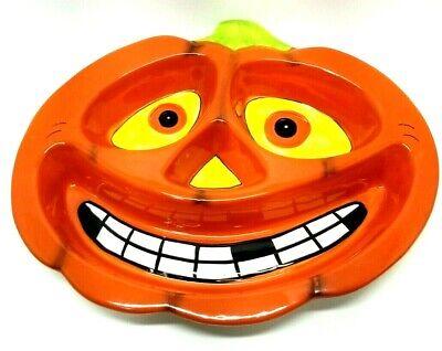 Decorative Halloween Pumpkin Head Ceramic Display Trays (Display Only) (K5
