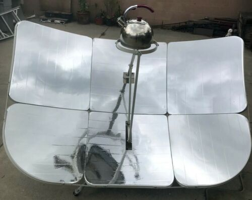 US Seller 2000W Parabolic Solar Cooker Outdoor Camping Sun Concentration Oven