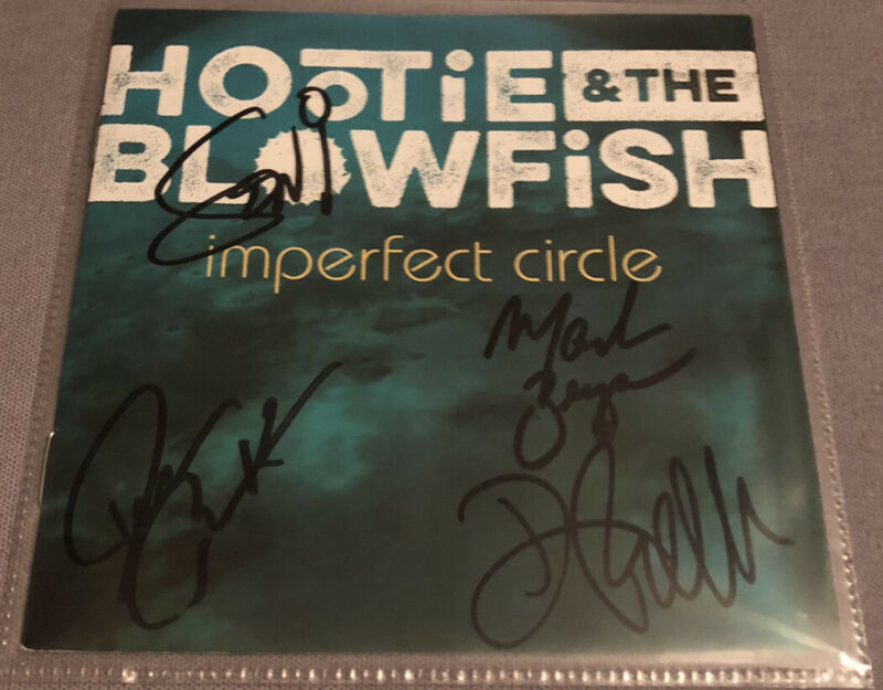 Hootie And The Blowfish Signed CD Imperfect Circle Darius Rucker