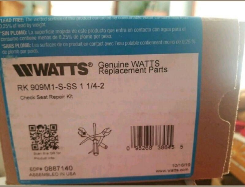 Watts 0887140 RK909M1SS-S Backflow Preventer Service Kit