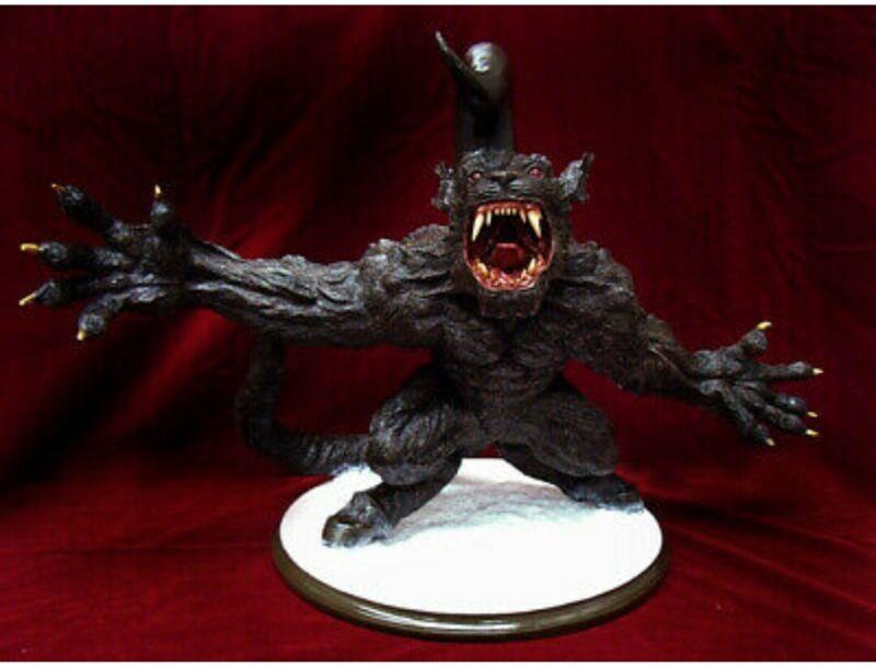 ART OF WAR Berserk Collectible Statue ZODD III 2007 - New In Box W/ Plate