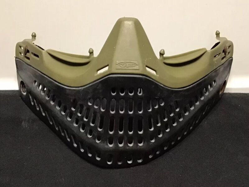 JT USA Proflex OG Olive Green Paintball Mask Bottom Faceplate Goggle Spectra