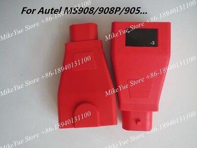 For Autel Maxisys MS908 P for FIAT -3 Adaptor OBD2 16 pin Female OBD Connector