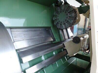 Mori Seiki Sl-7 Fanuc 6-tb 3037kw 10-1800rpm Cnc Lathe 32 3jaw Hydraulic Chuck