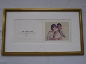 hand-signed-Christmas-Card-Prince-Charles-Princess-Diana-Authentication