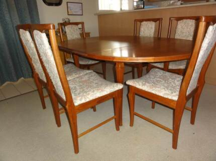 7 Piece Dining Setting Harristown Toowoomba City Preview