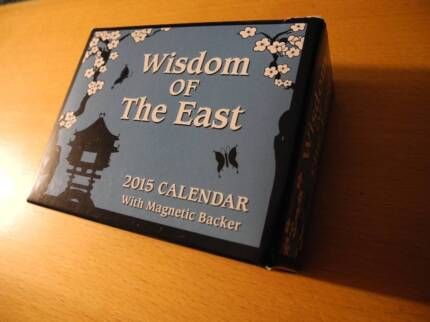 Wisdom of the East 2015 calendar East Perth Perth City Preview