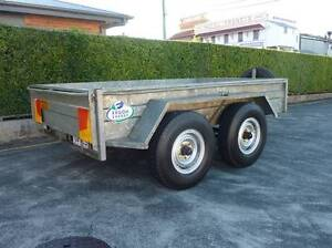 Hans Welding Works 10ft x 6ft Tandem Axle Box Trailer Ex Ergon Maryborough Fraser Coast Preview