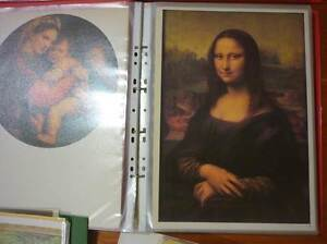 Large collection of art reproductions in plastic page books Kedron Brisbane North East Preview