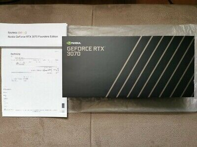 NVIDIA GeForce RTX 3070 FE Founders Edition NEU/OVP inkl. Rechnung