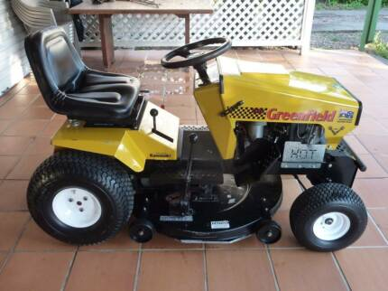 Greenfield Fastcut 34 Commercial Ride on Mower Kawasaki V-Twin Maryborough West Fraser Coast Preview