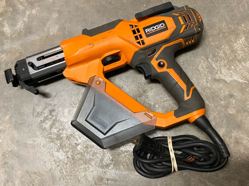RIGID R6791  COLLATED DRYWALL & DECK SCREWDRIVER SCREWGUN