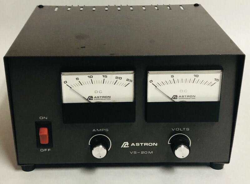 ASTRON VS-20M POWER SUPPLY TESTED