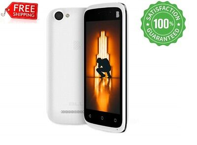 Cell phone cheap Unlocked Android 8.1 double sim 3G WIFI  8 GB  *NEW* White