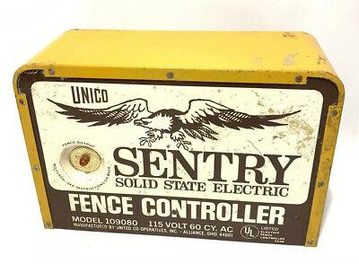 Vintage Unico Sentry Solid State Fence Controller 115 Volt Model 109080 Tested