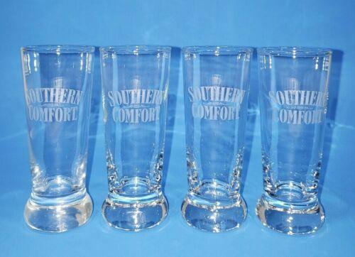 "Lot of 4 Southern Comfort 4"" Tall Shooter Shot Glasses EUC"
