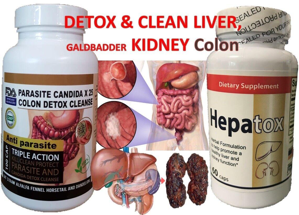 DESINTOXICADOR PARA EL HIGADO limpieza colon,higado,rinones,estomago detox 1