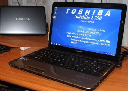 i7/HDMI/TOSHIBA SATELLITE L750/750 GB HDD/8 GB RAM/4095VRAM total Colyton Penrith Area Preview