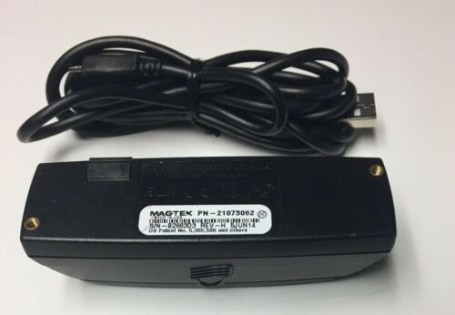 Magtek 21073062 Dynamag Bi-Directional USB Card Reader *TGATE LVL3 KEY*