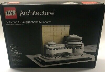 Lego Architecture #21004 Solomon R. Guggenheim Musuem - Brand New - Factory Seal