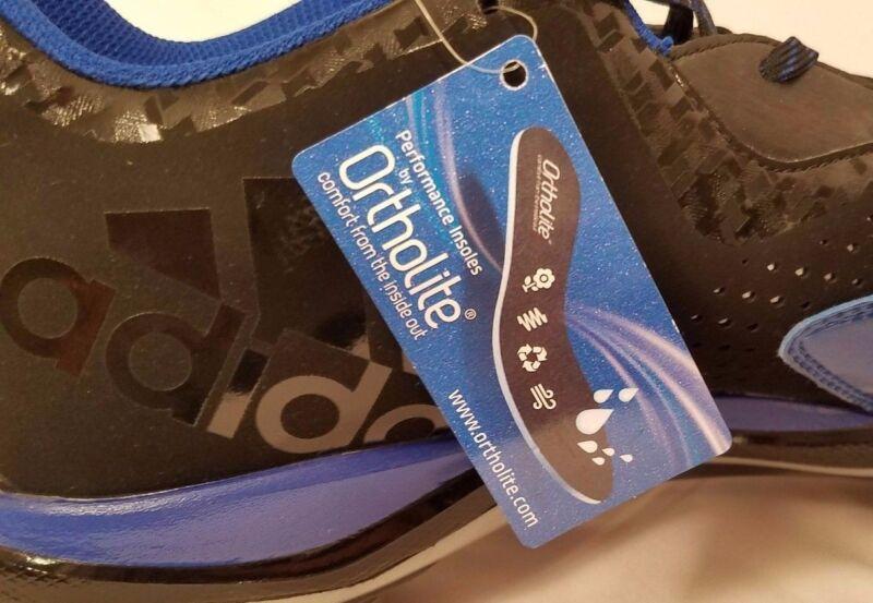 the best attitude c8a9e 002bd ... Adidas Mens PowerAlley 4 Metal Baseball Cleats BlackBlue Q16482 Size  14