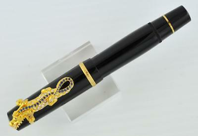 MONTBLANC PRECIOUS YEAR OF THE DRAGON SAPPHIRE LIMITED FOUNTAIN PENS ONLY