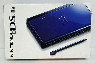 nintendo ds lite game system factory sealed cobalt blue 2008. Black Bedroom Furniture Sets. Home Design Ideas