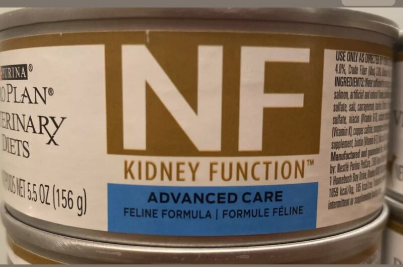 Purina Feline NF Advanced Kidney Care Wet Cat Food 5.5 Ounce Can x 24 Cans