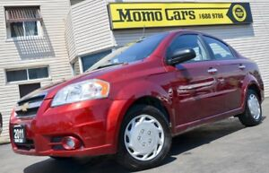 2011 Chevrolet Aveo Sunroof+ LowKM! ONLY $99/bi-weekly!