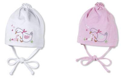 SOMMER Baby Mädchen Knotenmütze Gans Mütze STERNTALER 1401650 -K626 (Gans Mädchen)