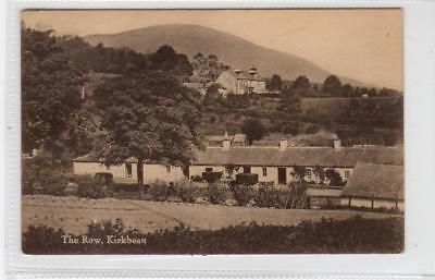 THE ROW, KIRKBEAN: Kirkcudbrightshire postcard (C29750)