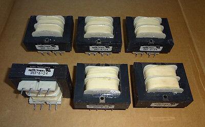 6ea.  Signal 20VA 115/230Vac  to 24Vac  PC Board Mount Transformers
