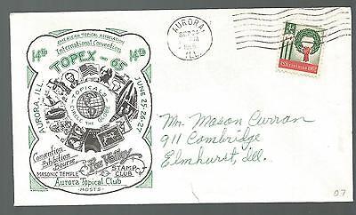 - 65 Fox Valley Aurora Topische Club September 30,1966 Aurora Ill