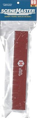 Ho Scale Walthers Scenemaster 949 8521 Hub Group Red 53 Singamas Container