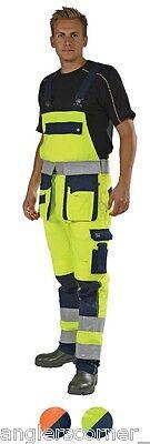 Hohe Sichtbarkeit Overall (Ocean Thor Hohe Sichtbarkeit Latz & Hosenträger Hosen/Overall/Arbeitskleidung/)