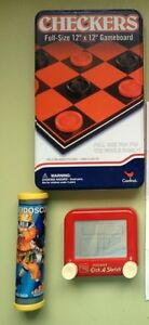 Toys for sale: Checkers, Etch S Sketch, craft kits and more London Ontario image 1