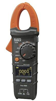 New Klein Tools -cl330- 400a Ac Auto-ranging Digital Clamp Meter Wcarrying Case
