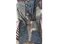 Textile waterproof motorcycle trousers