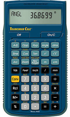 Calculated Industries Tradesman 4400 Calculator