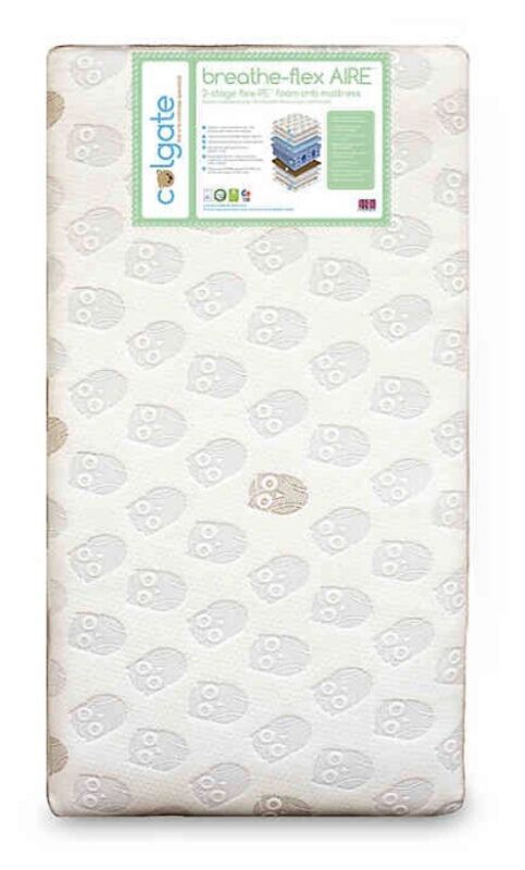 Colgate Breathe-Flex™ Aire Eco-Friendly Crib Mattress